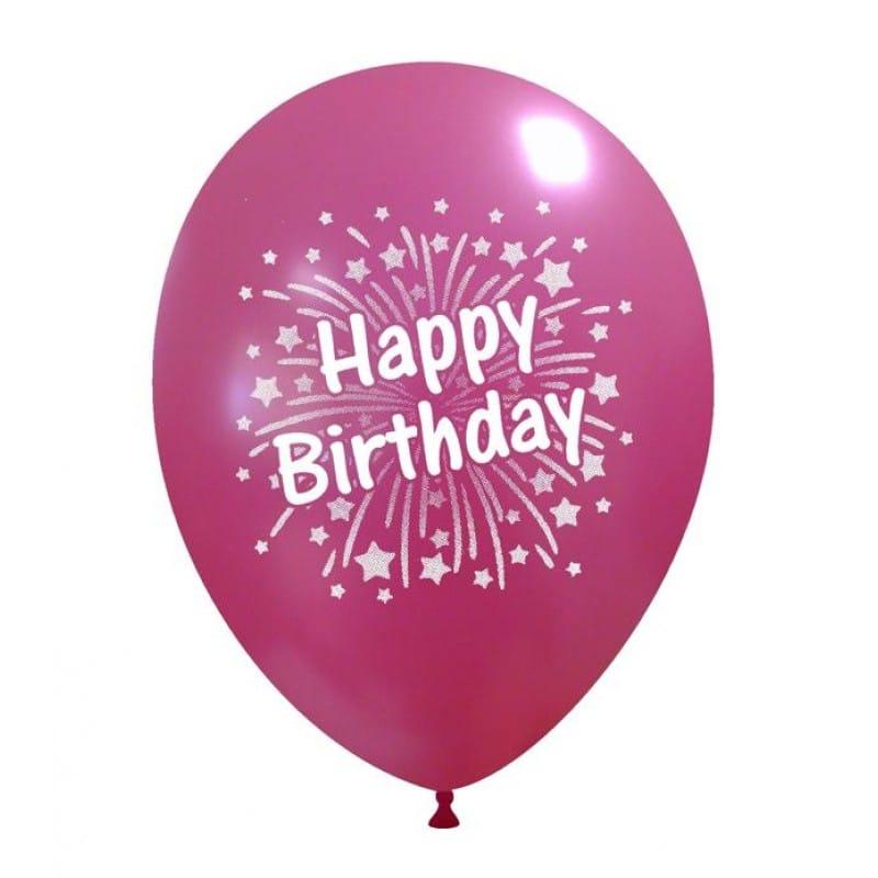Palloncini compleanno Birthday Fuochi d artificio