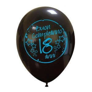Palloncini compleanno Buon Compleanno 18