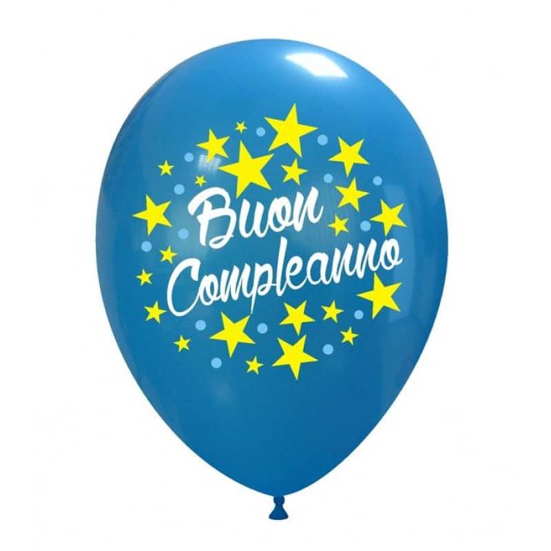 Palloncini compleanno Buon Compleanno 3 Colori