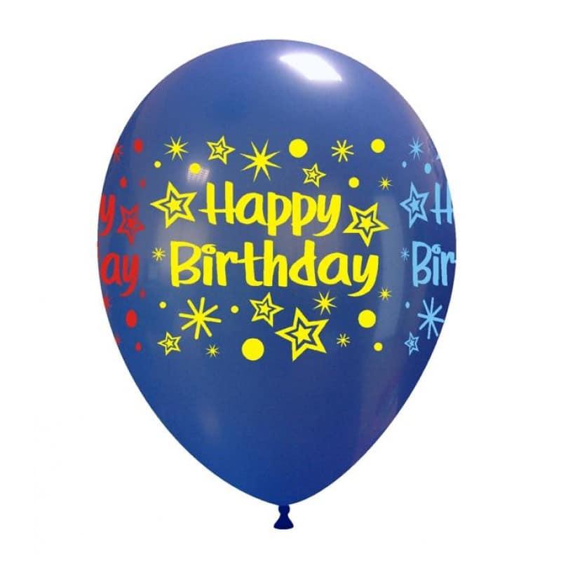 Palloncini compleanno Happy Birthday (multicolor)