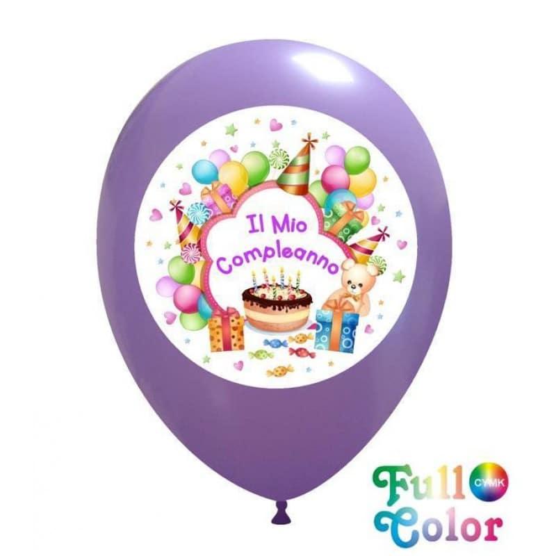 Palloncini compleanno Il Mio Compleanno - Full Color (CMYK)