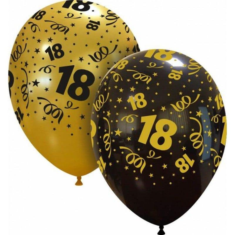 Palloncini compleanno 18 Globo (Edizione Limitata)