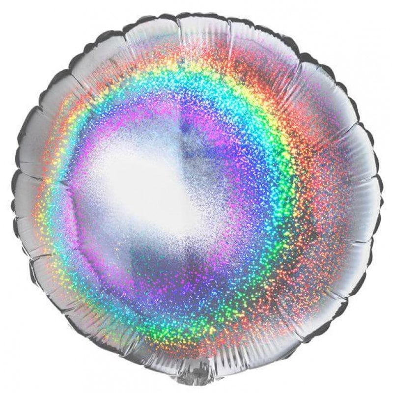 """Palloni Mylar Sagomati Mylar Tondi - 18"""" Tondo Mylar Glitter"""