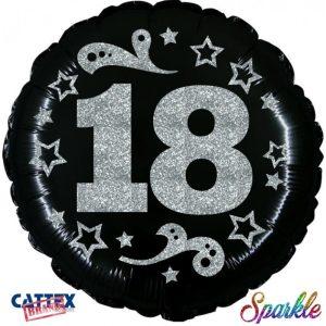"""Palloncini compleanno 18 anni Sparkle (18"""")"""