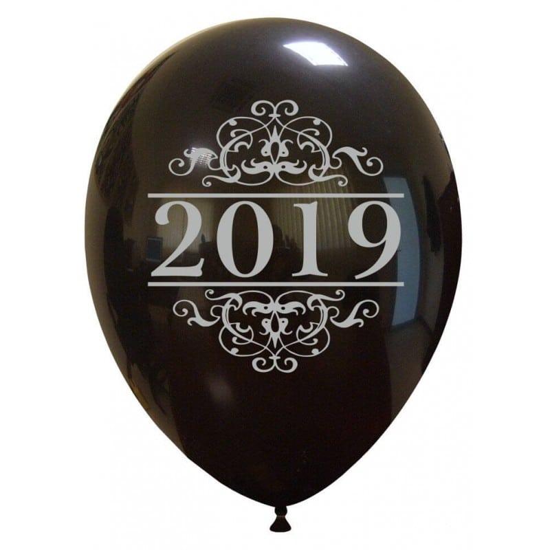 Palloncini natalizi - 2019 argentato