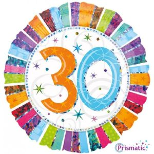 """Palloncini compleanno 30 Radiant Birthday (18"""")"""