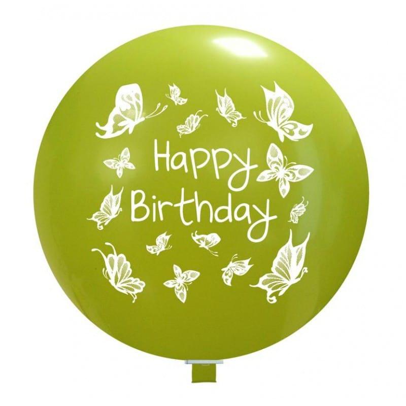 Palloncini compleanno Birthday Farfalle