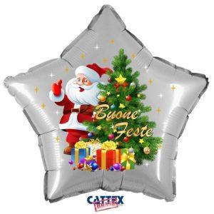 """Palloncini natalizi - albero di babbo natale (18"""")"""