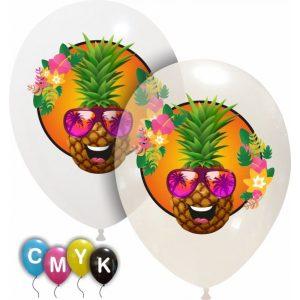 Palloncini varie - ananas - full color (cmyk)