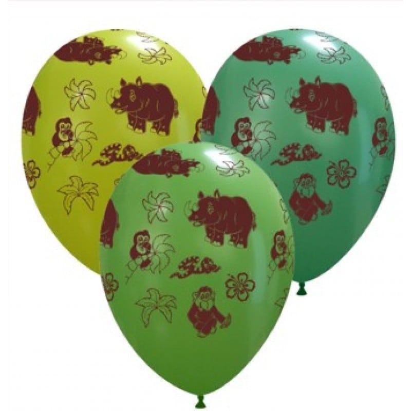 Palloncini animali - animali - giungla (globo)