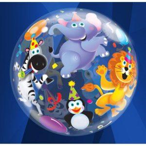 "Palloncini bubbles - animali party (22"")"