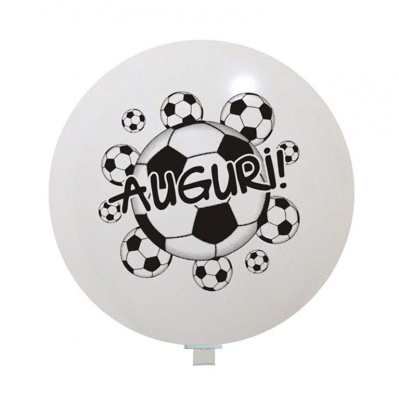 Palloncini auguri - auguri calcio