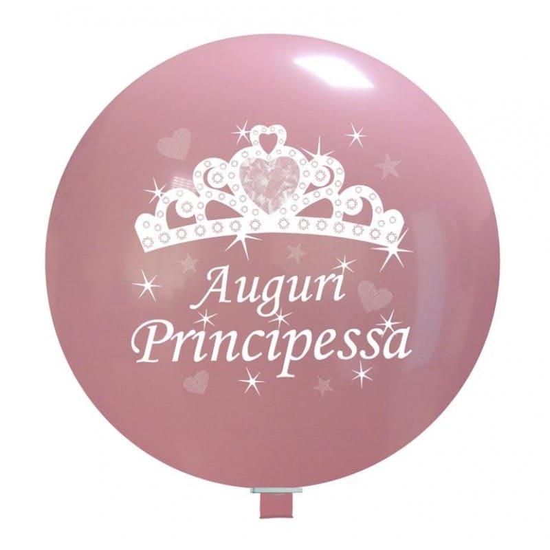 Palloncini auguri - auguri principessa 2