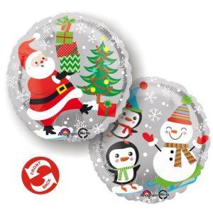 Palloncini natalizi - babbo