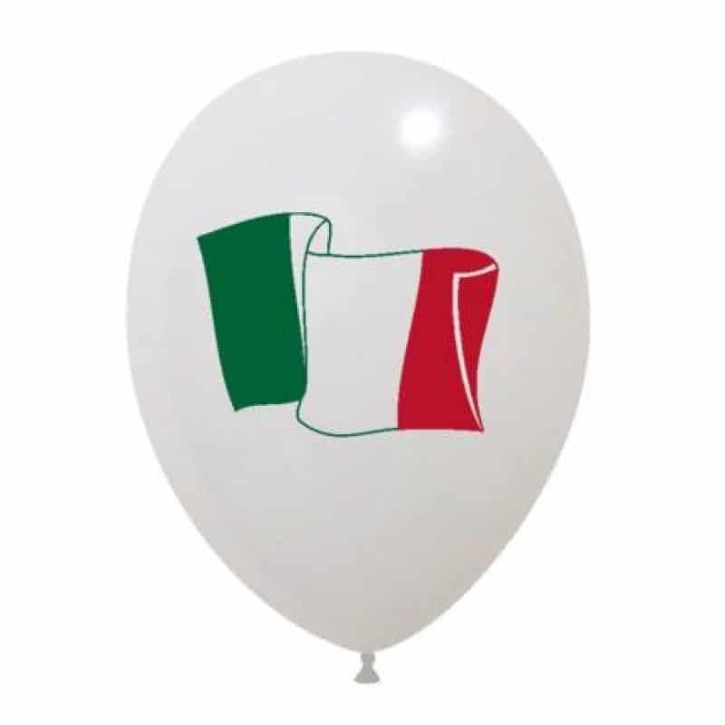 Palloncini sport - bandiera italiana