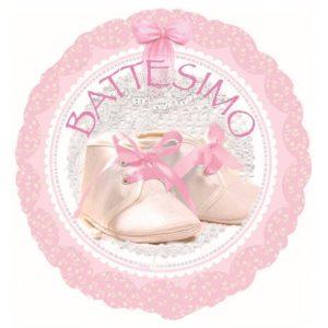 """Palloncini mylar religiosi Battesimo Bimba XL® (18"""")"""
