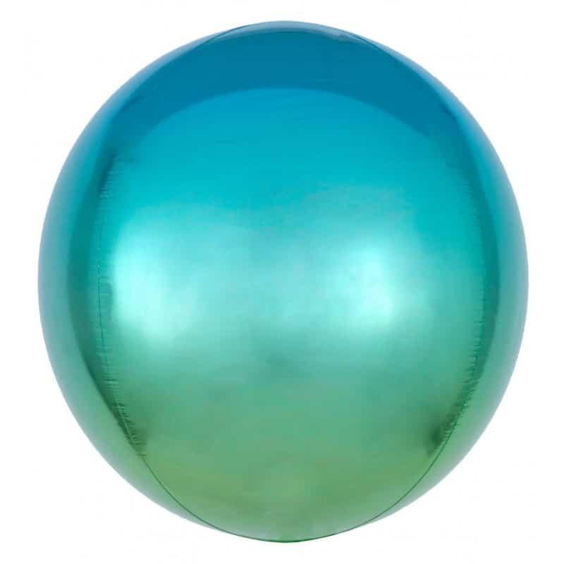 "Palloncini mylar animali Blu e Verde Orbz (16"")"