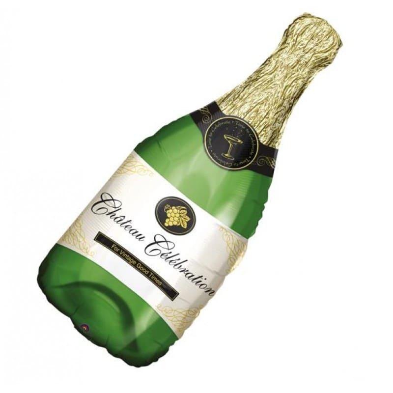 """Palloncini natalizi - bottiglia di champagne xl® supershapes™ (39"""")"""