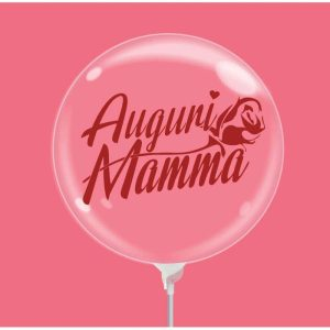 "Palloncini compleanno Bubble Party - Auguri Mamma (10"")"