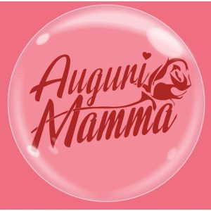 "Palloncini compleanno Bubble Party - Auguri Mamma (18"")"