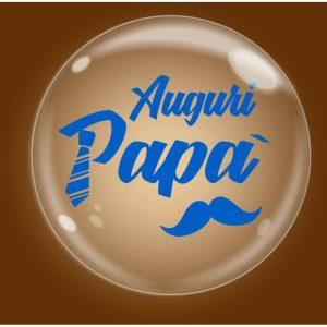 """Palloncini bubbles - bubble party - auguri papà (18"""")"""