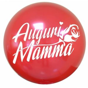 "Palloncini compleanno Bubble Party Chrome - Auguri Mamma (18"")"