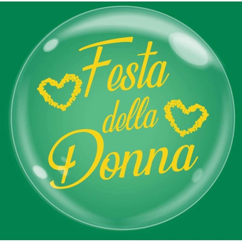 """Palloncini bubbles - bubble party - festa della donna (18"""")"""