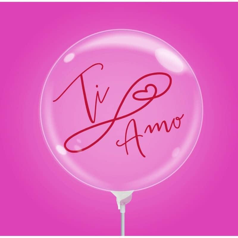"""Palloncini amore - bubble party - ti amo (10"""")"""