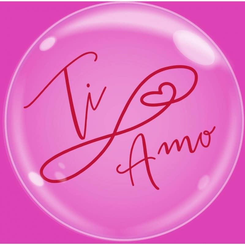 """Palloncini amore - bubble party - ti amo (24"""")"""