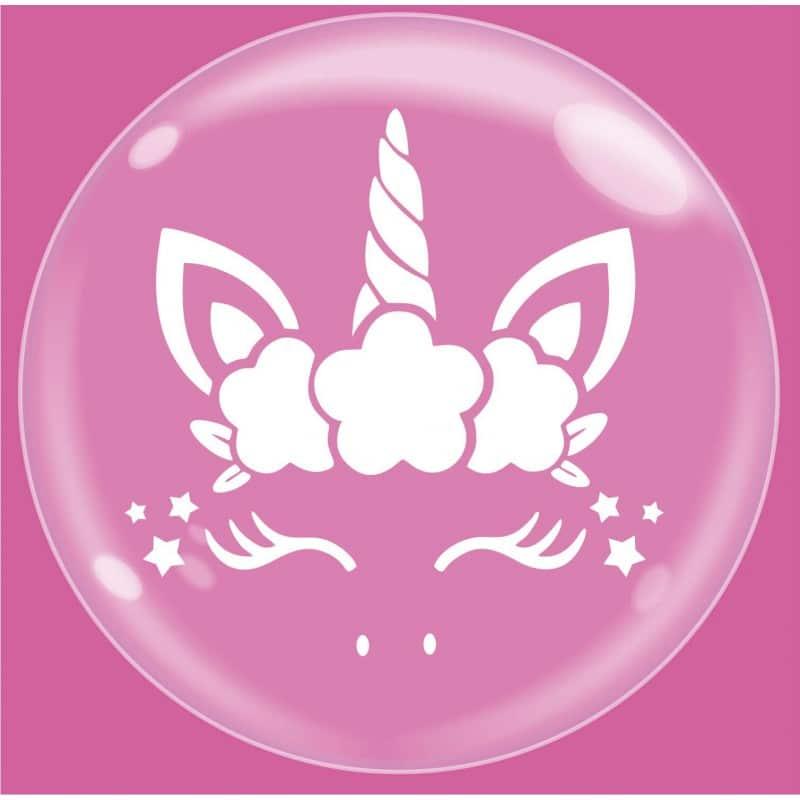 """Palloncini bubbles - bubble party - unicorno (18"""")"""