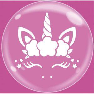 """Palloncini bubbles - bubble party - unicorno (24"""")"""