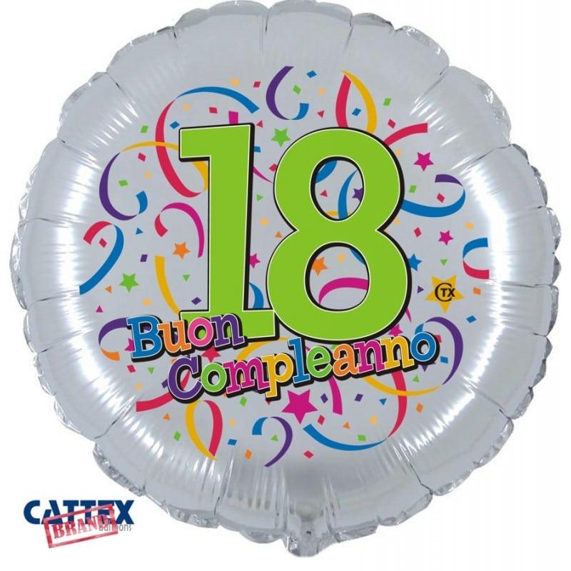 """Palloncini compleanno Buon 18° Compleanno (18"""")"""
