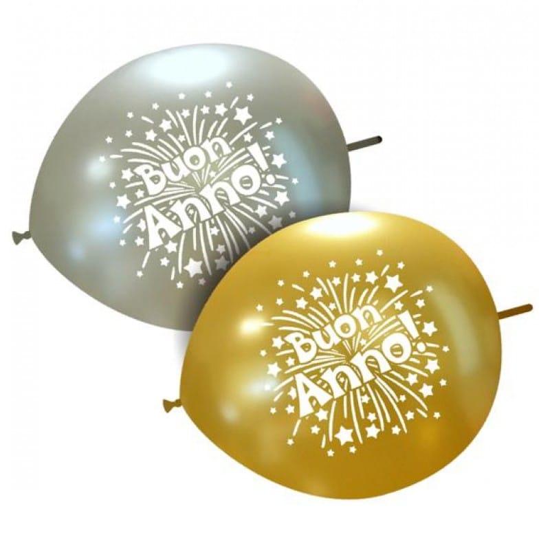 Palloncini natalizi - buon anno stelline