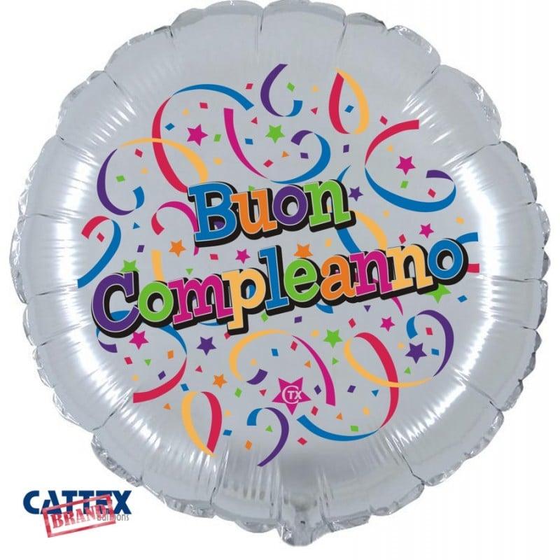 """Palloncini compleanno Buon Compleanno (18"""")"""