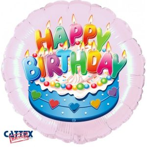"""Palloncini Compleanno - Buon Compleanno Celeste (18"""")"""
