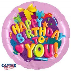 """Palloncini Compleanno - Buon Compleanno Cuoricino (28"""")"""