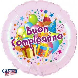 """Palloncini Compleanno - Buon Compleanno Festa (18"""")"""