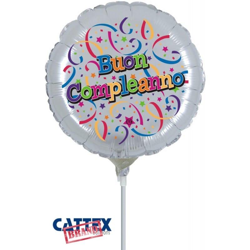 """Palloncini compleanno Buon Compleanno Minishape (9"""")"""