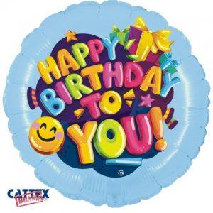 """Palloncini Compleanno - Buon Compleanno Smile (18"""")"""