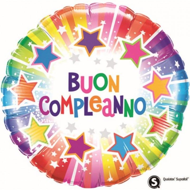 """Palloncini compleanno Buon Compleanno Stelle (18"""")"""