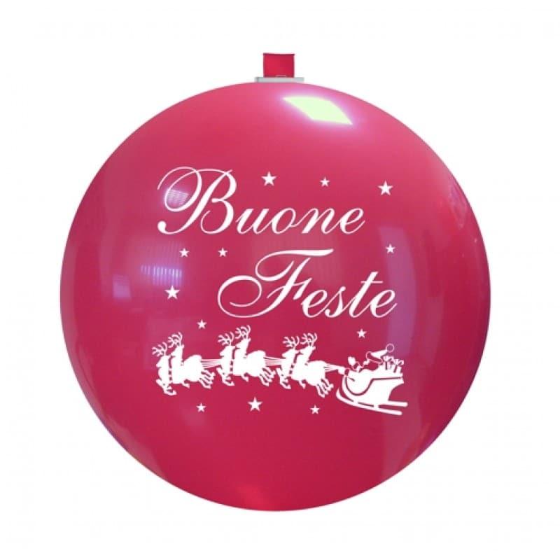 Palloncini natalizi - buone feste