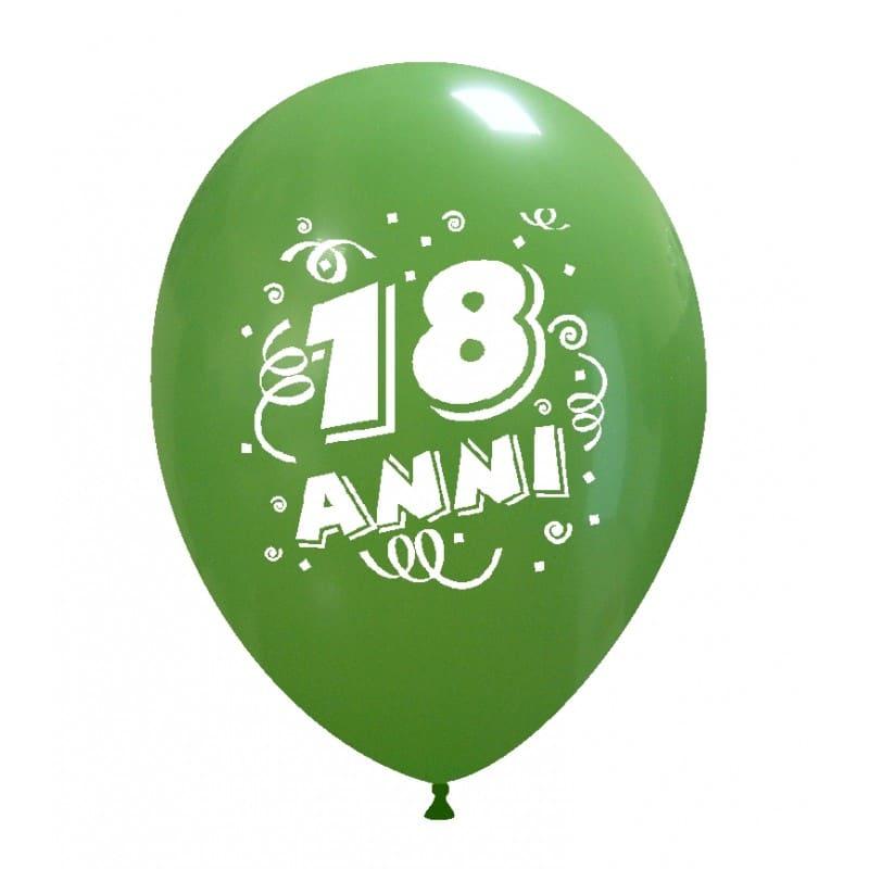 Palloncini compleanno 18 Anni