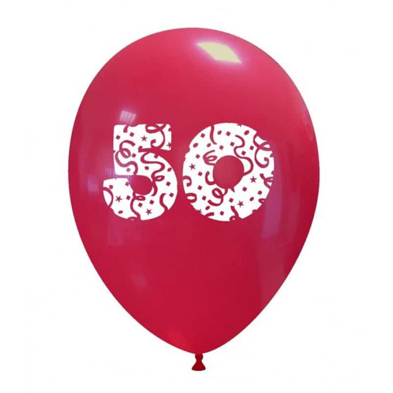 Palloncini compleanno Numeri