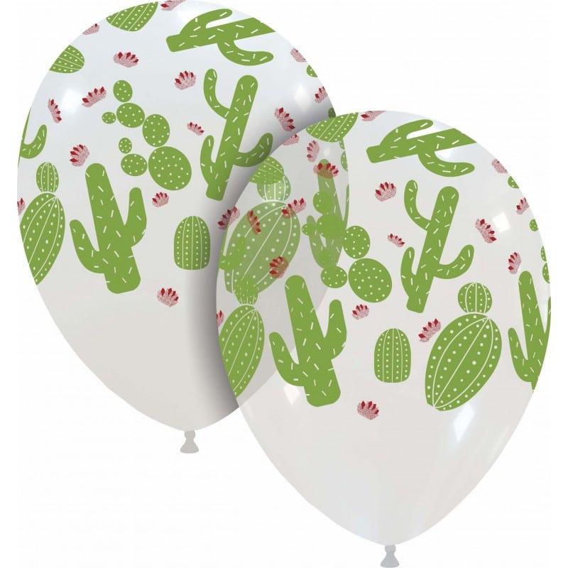 Palloncini stampa globo - cactus colorato