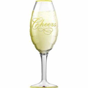 "Palloncini natalizi - champagne cheers xl® supershapes™ (50"")"
