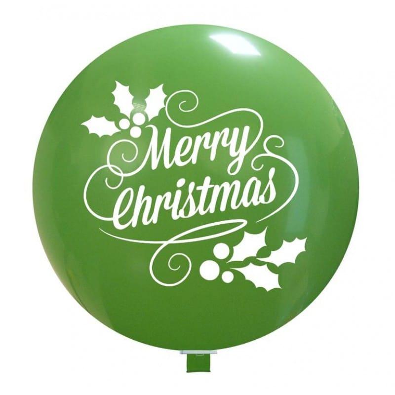 Palloncini natalizi - christmas holly