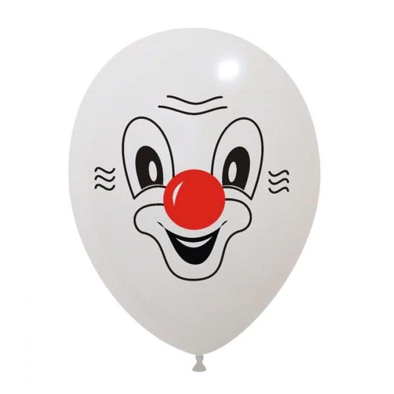 Palloncini facce - clown 2 colori