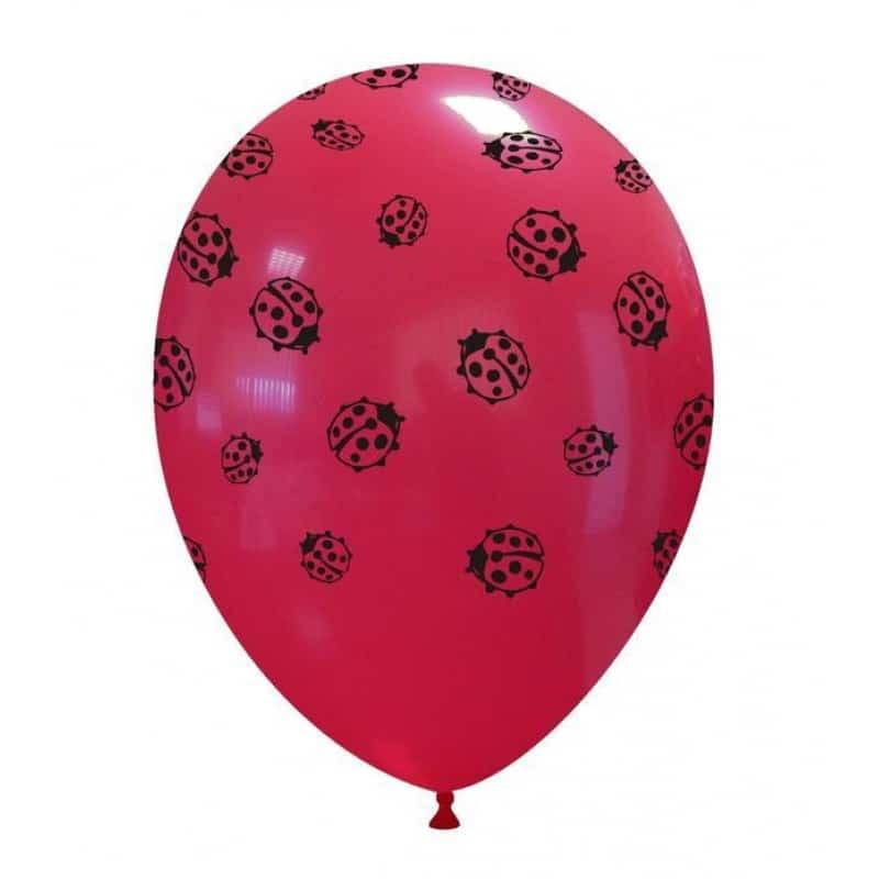 Palloncini stampa globo - coccinelle