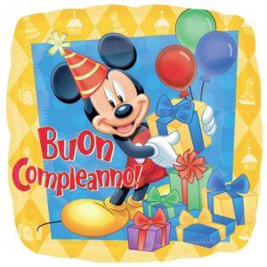 """Palloncini mylar Personaggi Compleanno Mickey Mouse (18"""")"""