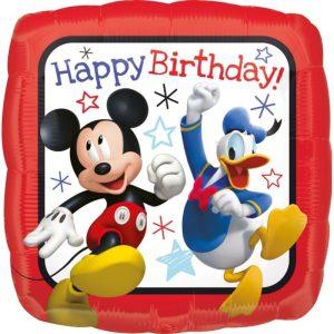 """Palloncini mylar Personaggi Compleanno Mickey & friends (18"""")"""
